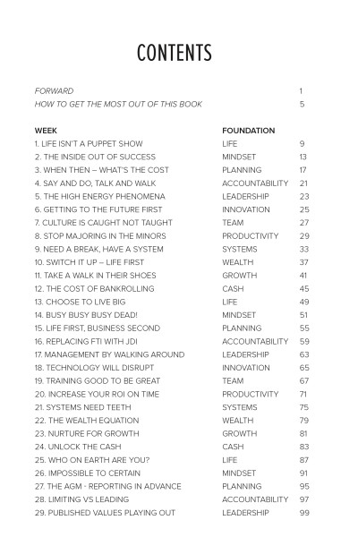 Book - Contents Pages for Website 1